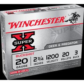 "Winchester Winchester Super-X Buckshot 2.75"" 3 Buck"
