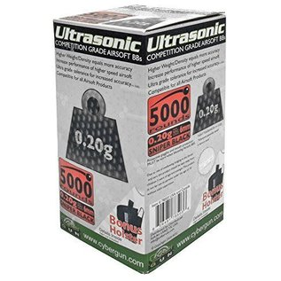 Ultrasonic Competition grade Airsoft Bbs 0.20g 5000 pk