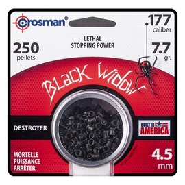crosman Crosman Premier Black Widow .177 Caliber Pellets 7.5 Grain, 250 Count