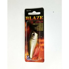 Blaze Lure Top Water Silver and Green