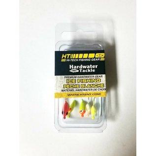 HT Hardwater Micro Jig, Moon Glitter Asst, 5 Pk