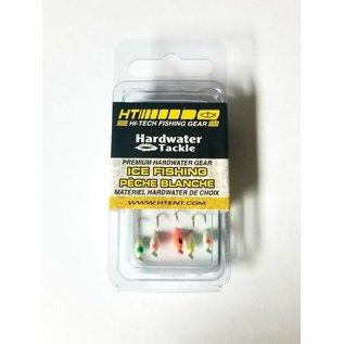 HT Hardwater Micro Jig, Moon Glow Asst #8, 5 Pk