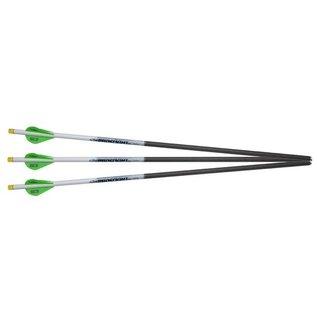 "Excaliber Excalibur Proflight Crossbow Arrows w/Lumenoks 18"", 3pk"