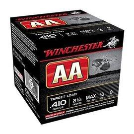 "Winchester 410 ga  -  Winchester AA Shotshell  2.5"" 1/2oz #7.5 25Rnd"