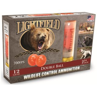 "Lightfield Lightfield Double Rubber Ball Wildlife Control  12 ga, 2.75"", 700 fps, 5 rnds"