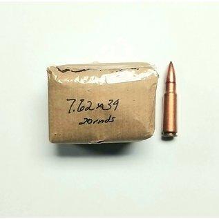 7.62x39 Surplus Ammo 20 rnds