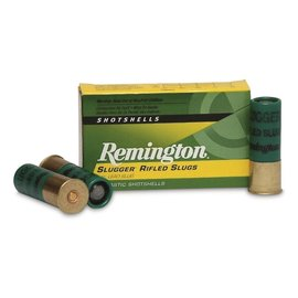 "Remington Remington High Velocity Rifled Slugs 12 ga, 3 "", 7/8 oz, 1875 fps, 5 rnds"