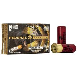 "Federal Federal TruBall Rifled Slugs 12 ga, 3 "", 1 oz, 1700 fps, 5 rnds"