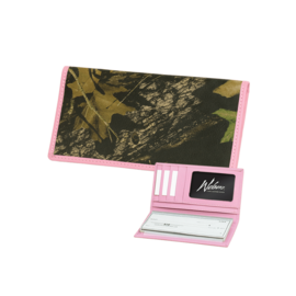 Webbers Women's Camo Deluxe Checkbook Wallet