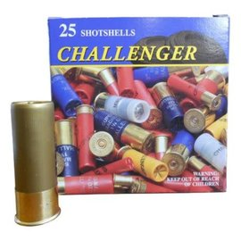 """Challenger 12 ga Lead  -  Challenger 2.75"""", #6, 1 1/8 oz, 25 rnds"""