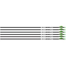 """Beman Beman ICS Hunter Classic Arrows,""""S"""" 6pk"""