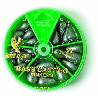 Eagle Claw Eagle Claw Bass Casting Sinker Assortment 27 pk