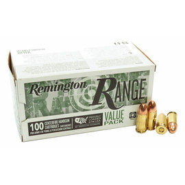 Remington Remington Range 9mm 115gr FMJ 100 Rnds