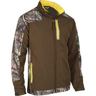 Mens Windproof Softshell Camo Jacket Med