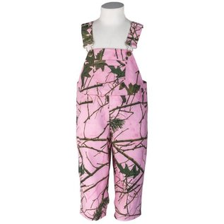 Burley Camo Clothes Pink camo Overall 4T