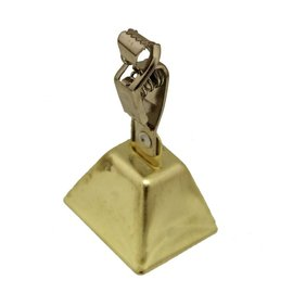Fish Bell Square w/Clamp