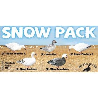 Silhouette Decoy Snow Goose 12 Pack