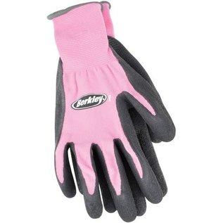 Berkley Ladies Coated Grip Gloves, Pink