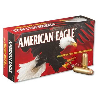 Federal Federal American Eagle Pistol Ammo 10mm Auto 180Gr 50Rnd FMJ