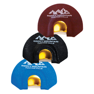 Rocky Mountain Hunting Calls Rocky Mountain Golden Tone Plate 3 Pack Bull Elk Diaphragms