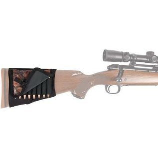 Allen Rifle Stock Shell Holder With Cover, 8 Loops, camo