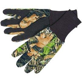 Allen Dot Grip Camo Jersey Gloves