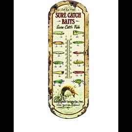 River's Edge River's Edge Nostalgic Tin Thermometer