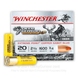 "Winchester 20 ga  -  Winchester Deer Season XP Copper Sabot Slug  2 3/4 """