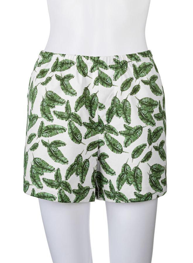Sleep Shorts Palm Leaf MED
