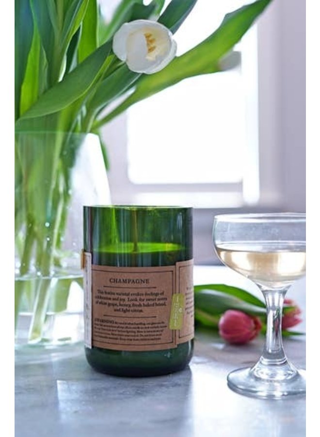 Champagne Signature Candle, 100% Soy