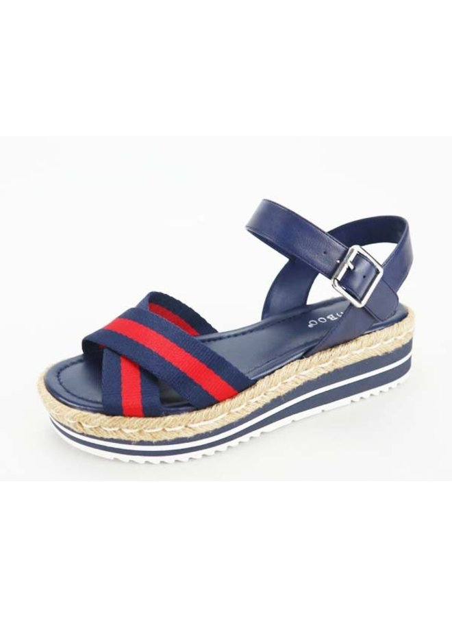 Red/Navy Daily Sandal