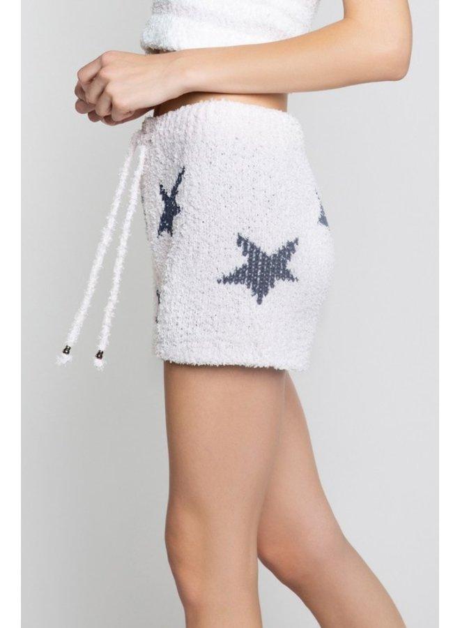 Cozy Fleece Shorts Pink/Blue