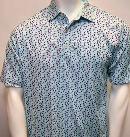FOOT JOY FOOTJOY LISLE FLOWER PRINT POLO