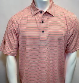FOOT JOY FOOTJOY LISLE MULTI-STRIPE POLO