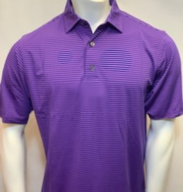 FOOT JOY FOOTJOY PERFORMANCE FEEDER STRIPE POLO