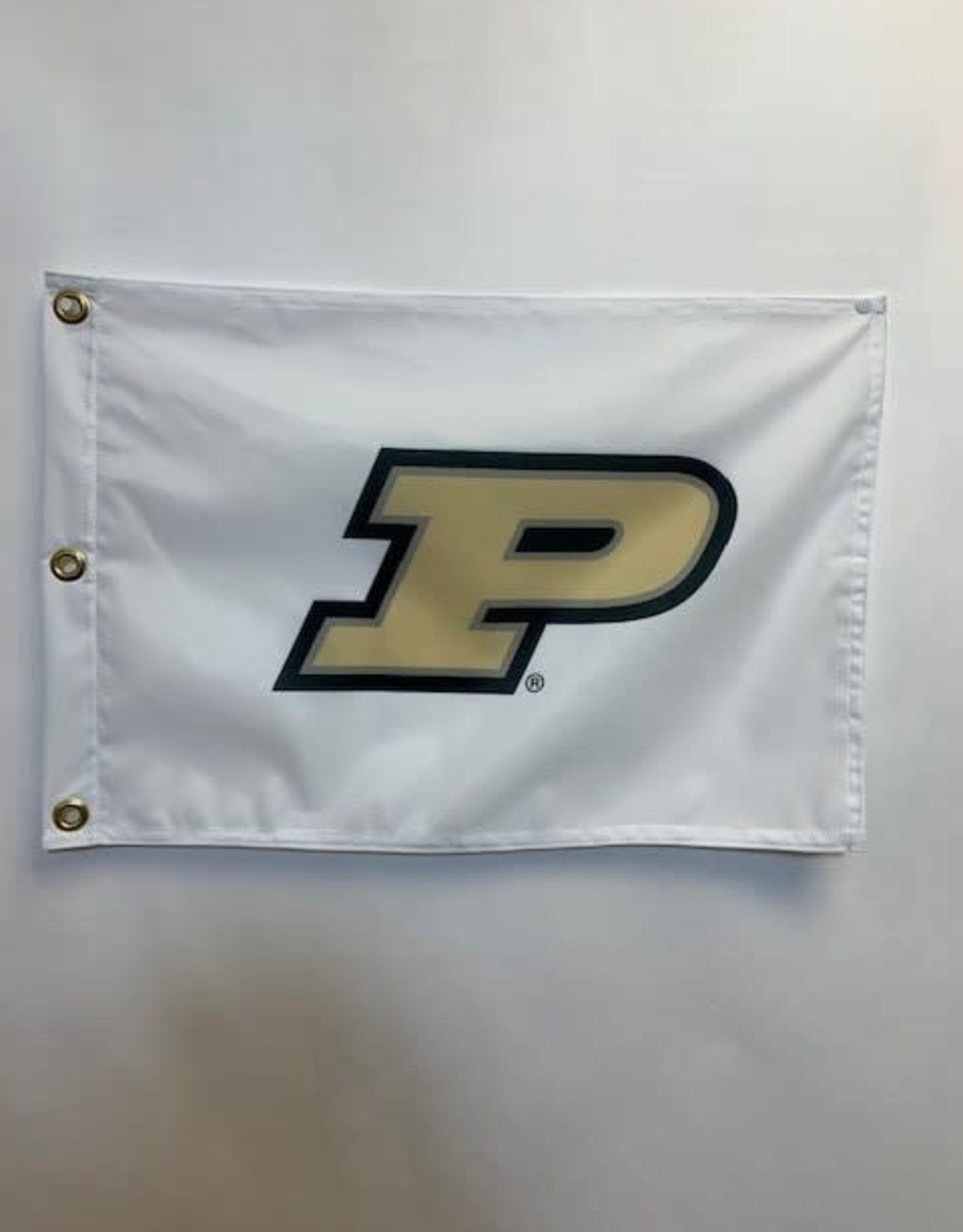 PURDUE FLAG WHITE