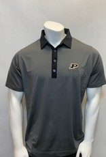 FOOT JOY FOOTJOY ATHLETIC FIT END ON END STRIPE POLO