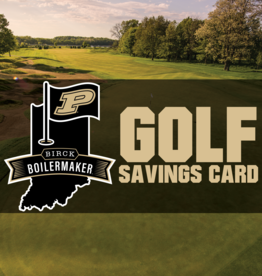 PURDUE GOLF SAVINGS CARD - STAFF AND FACULTY