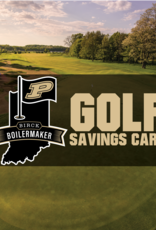 PURDUE GOLF SAVINGS CARD - OUT OF STATE RESIDENTSPurdue Golf Card - Purdue Golf Card - Out of State