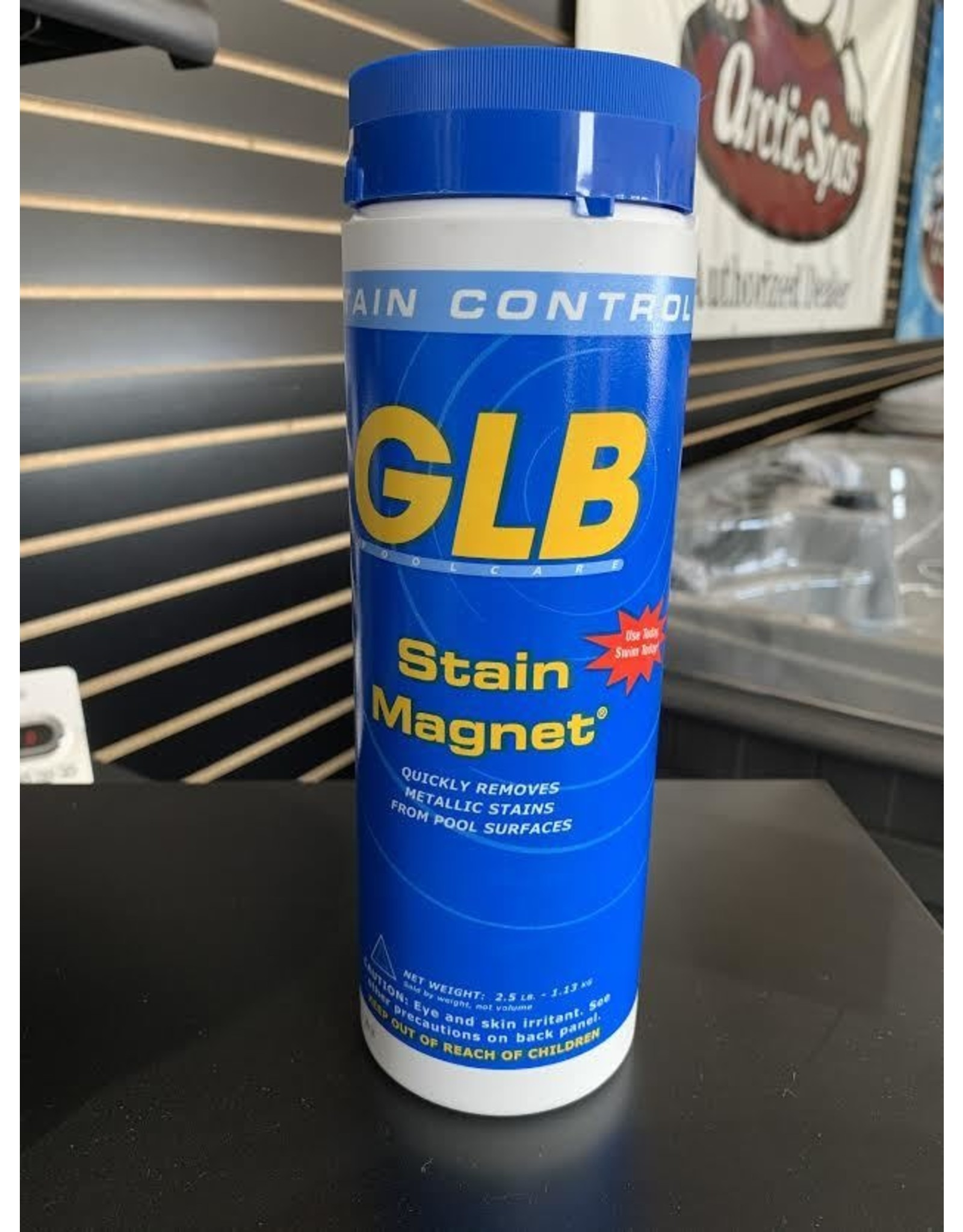 GLB Stain Magnet, 2.5 lbs