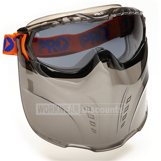 Pro Choice Pro Choice 5002 Vadar Goggle Visor Combo Smoke