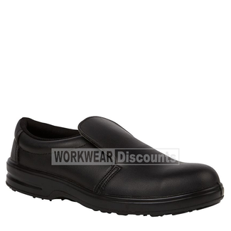 JB's Wear JB's 9C2 Microfibre Steel Cap Chef Shoes Black