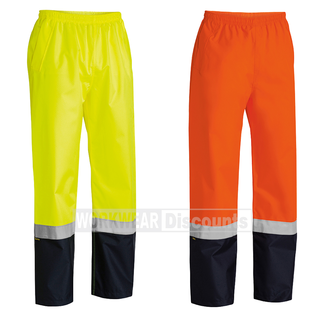 Bisley Bisley BP6965T Hi-Vis Taped Rain Pants
