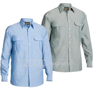 Bisley Bisley BS6030 Oxford Shirt Long Sleeve