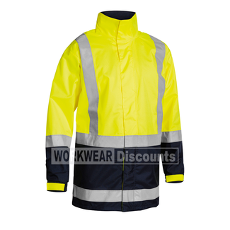 Bisley Bisley BJ6966T Hi-Vis Taped Rain Jacket