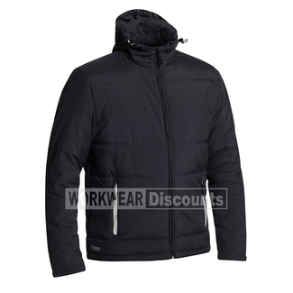 Bisley Bisley BJ6928 Puffer Jacket with Lined Sleeves and Adjustable Hood