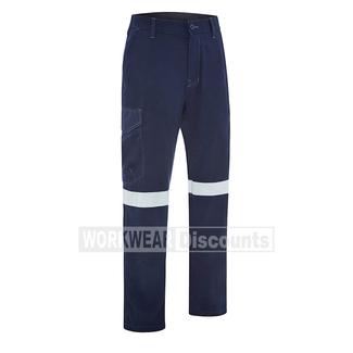 Bisley Bisley BPC8189T TenCate Tecasafe Plus 580 Taped Lightweight FR Cargo Pants
