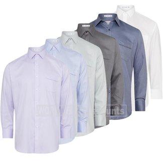 Van Heusen Van Heusen A103 Men's Cotton Polyester Relaxed Fit Dobby Herringbone Shirt