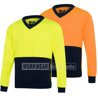 Visitec Visitec VSJ Hi-Vis V-Neck Sloppy Joe