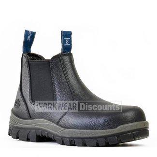 Bata Bata Hercules Pull On Steel Cap Boots
